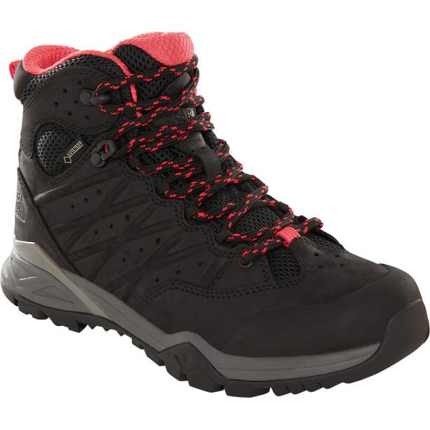 The North Face Hedgehog Hike II Mid GTX Schuhe Damen tnf black/atomic pink