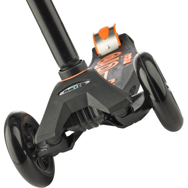 Micro Maxi Micro Deluxe Roller Kinder black