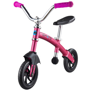 Micro G-Bike Chopper Deluxe Laufrad Kinder pink pink