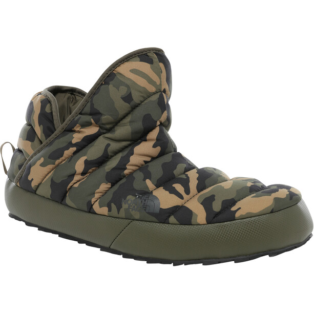 The North Face ThermoBall Traction Booties Herr New Taupe Green/Burnt Olive Green wd Camo Print