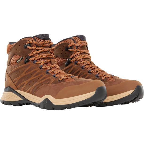 The North Face Hedgehog Hike II Mid GTX Shoes Herr Timber Tan/India Ink