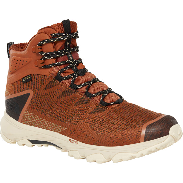 The North Face Ultra Fastpack III Mid GTX Woven Shoes Herr Caramel Cafe/TNF Black