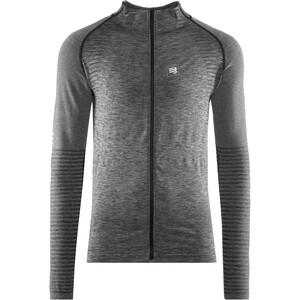 Compressport Seamless Zip Sweatshirt grau grau