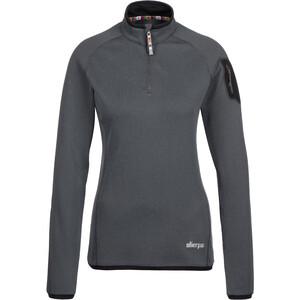 Sherpa Dikila Zip T-Shirt Damen kharani/black kharani/black