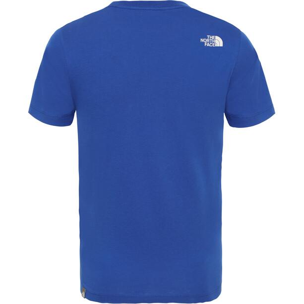 The North Face Easy Kurzarm T-Shirt Jungen tnf blue