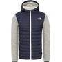 The North Face ThermoBall Gordon Lyons Hoodie Jacke Herren montague blue/vintage white heather