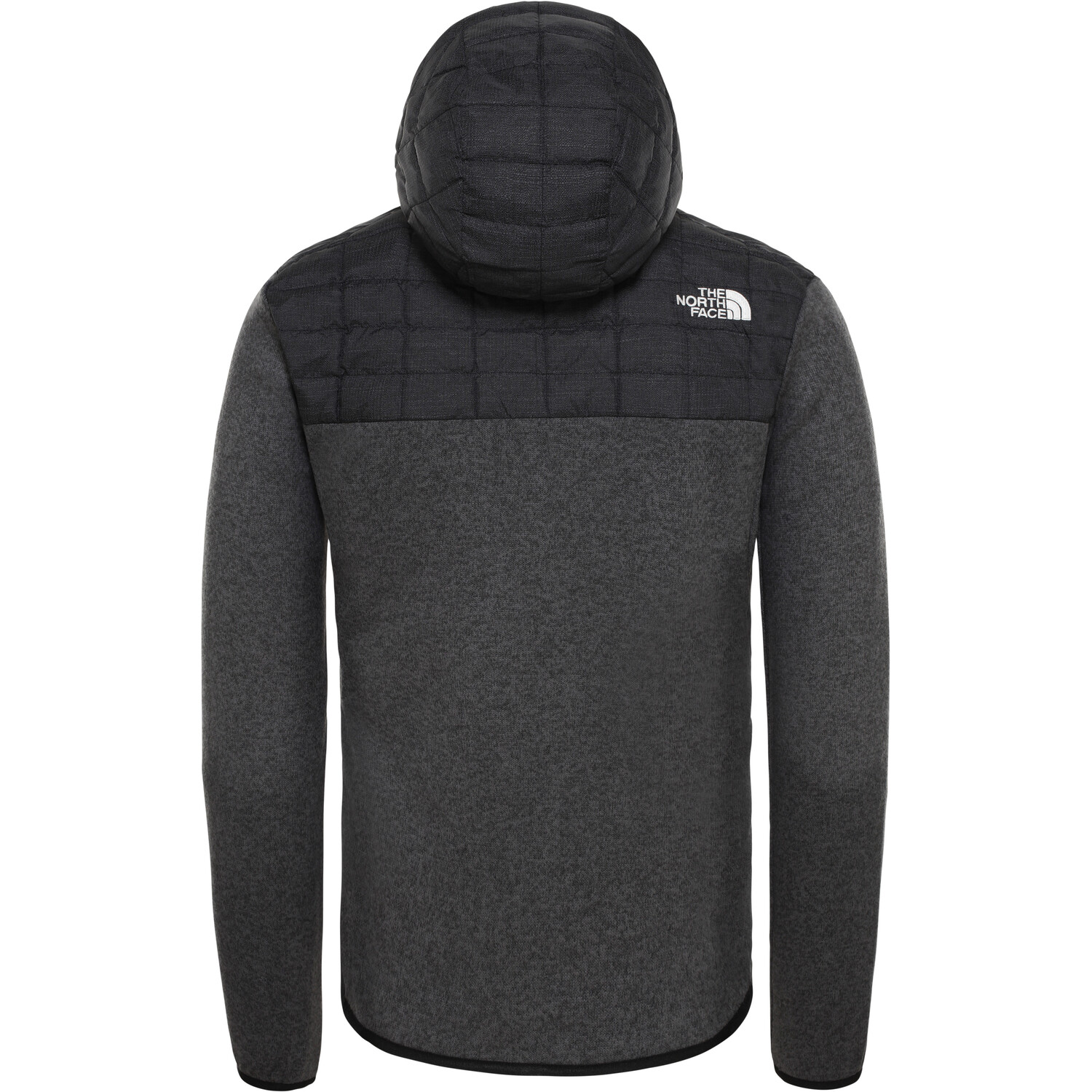 The North Face ThermoBall Gordon Lyons Hoodie Jacke Herren tnf black/graph grey/dk grey heather