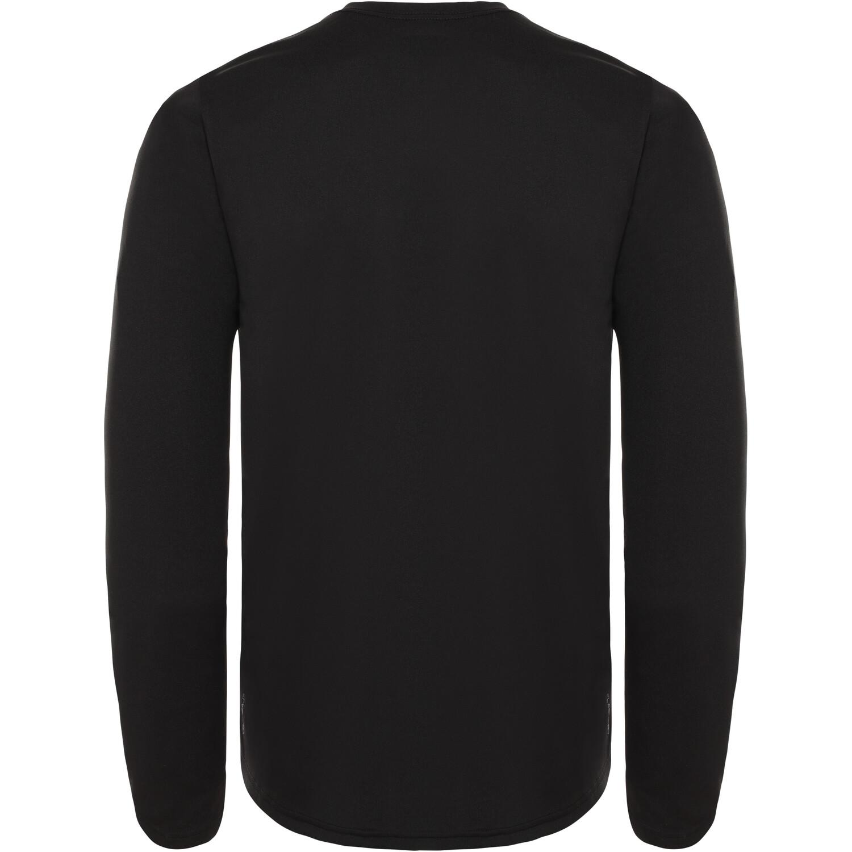 The North Face Reaxion Amp Langarm Rundhalsshirt Herren tnf black
