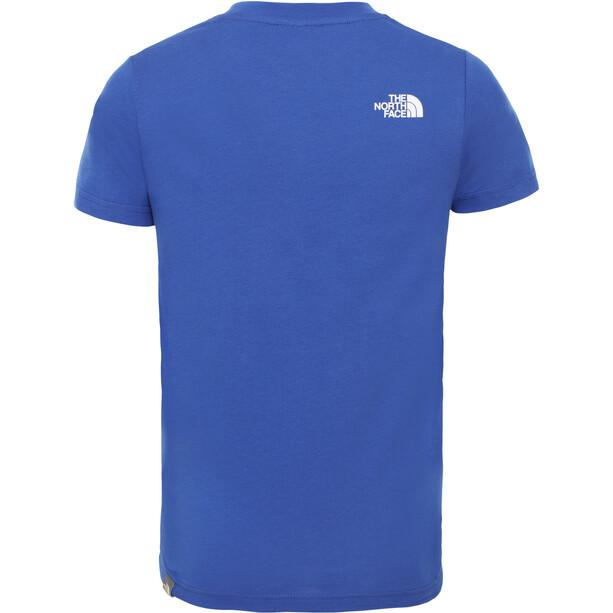 The North Face Simple Dome Kurzarm T-Shirt Jungen tnf blue