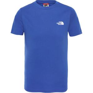The North Face Simple Dome Kurzarm T-Shirt Jungen tnf blue tnf blue