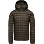The North Face ThermoBall Eco Hoodie Jacke Herren new taupe green matte