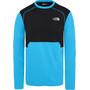 The North Face Quest Langarm T-Shirt Herren acoustic blue/tnf black