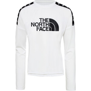 The North Face Train N Logo Crop Langarmshirt Damen tnf white tnf white