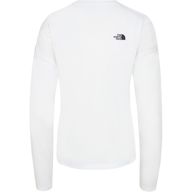 The North Face Train N Logo Crop Langarmshirt Damen tnf white