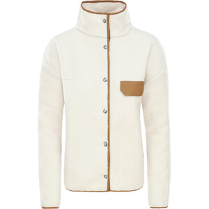 The North Face Cragmont Fleecejacke Damen vintage white/cedar brown vintage white/cedar brown