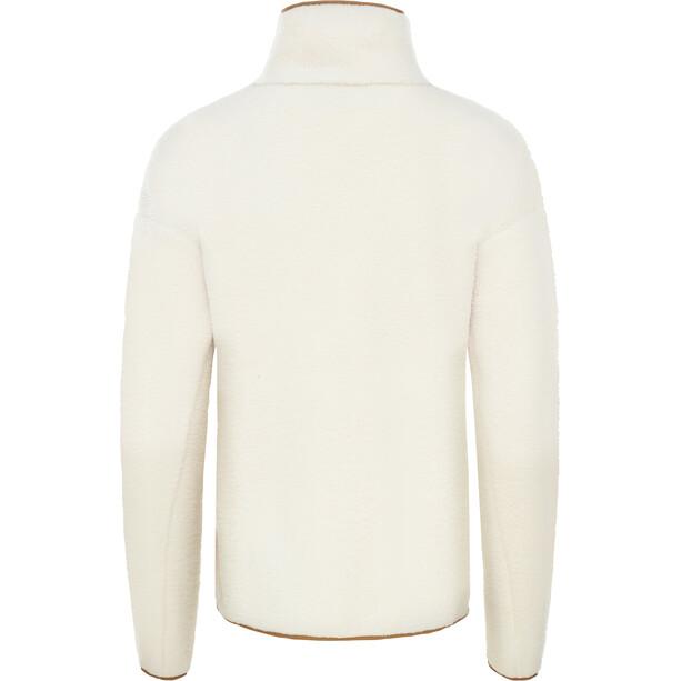 The North Face Cragmont Fleecejacke Damen vintage white/cedar brown