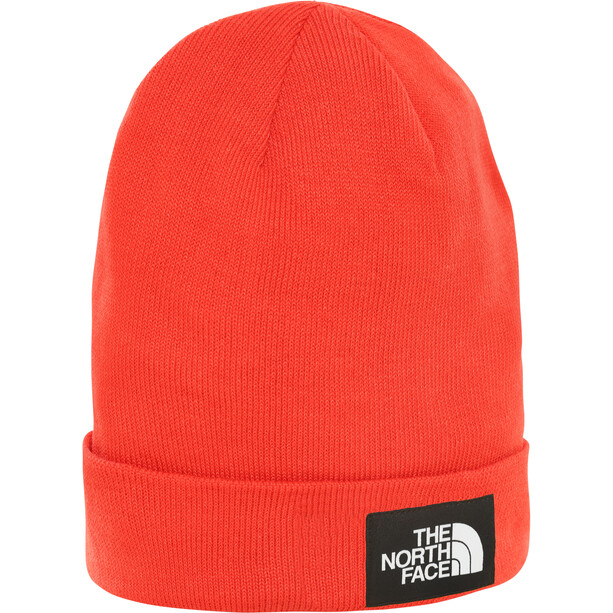 The North Face Dock Worker Recycled Beanie fiery red/tnf black