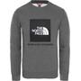 The North Face Box Rundhalsshirt Jungen tnf medium grey heather