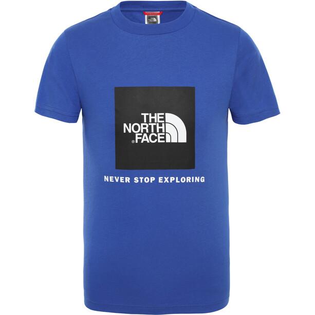 The North Face Box Kurzarm T-Shirt Jungen tnf blue