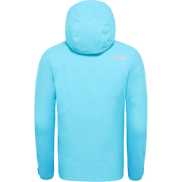 The North Face Snow Quest Jacket Flickor Turquoise Blue