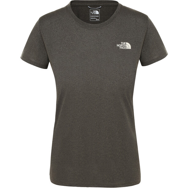The North Face Reaxion Amp SS Crew Dam New Taupe Green Heather