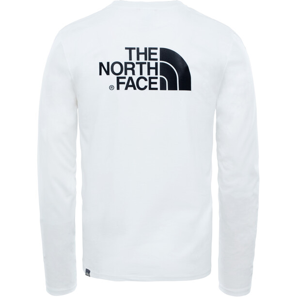 The North Face Easy LS Tee Herr TNF White