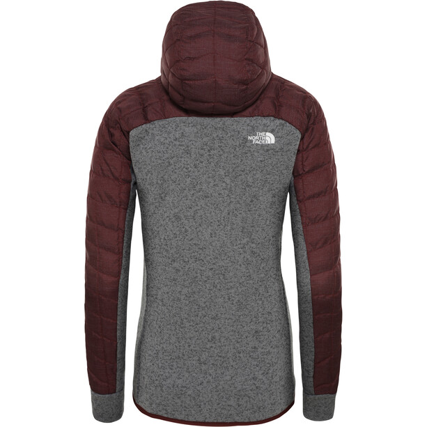 The North Face ThermoBall Gordon Lyons Hybrid Jacket Dam Sequoia Red/TNF Medium Grey Heather