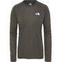 The North Face Reaxion Amp LS Crew Dam New Taupe Green Heather