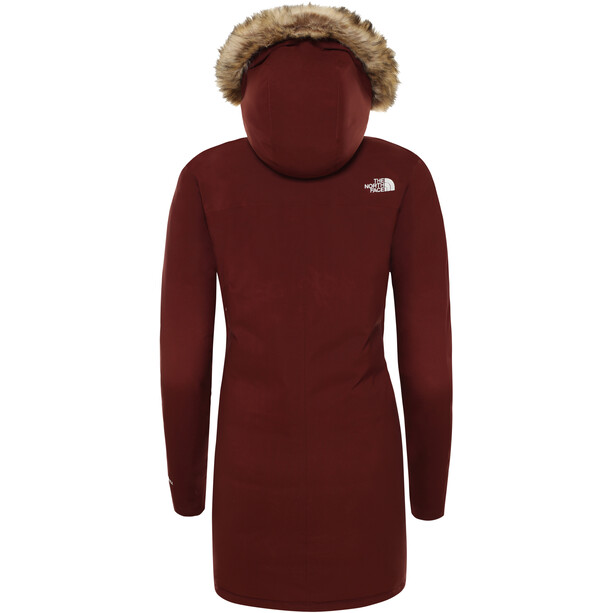 The North Face Cagoule Parka Dam sequoia red