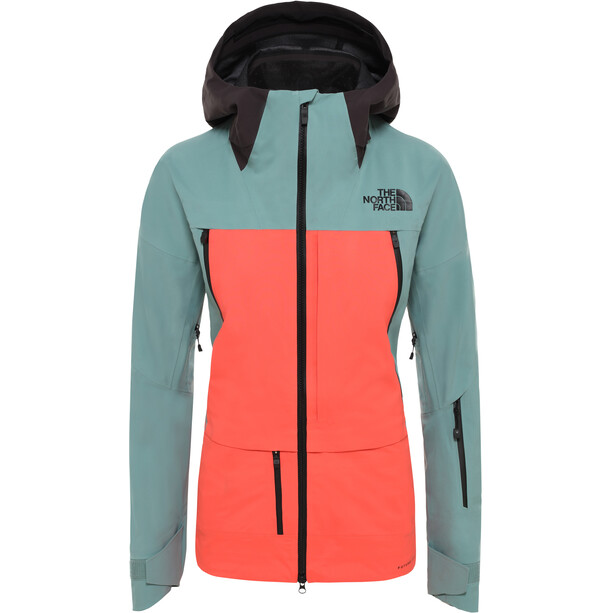 The North Face Ceptor Jacket Dam trellis green/radiant orange/weathered black