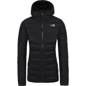 The North Face Stretch Down Hooded Jacket Dam TNF Black TNF Black