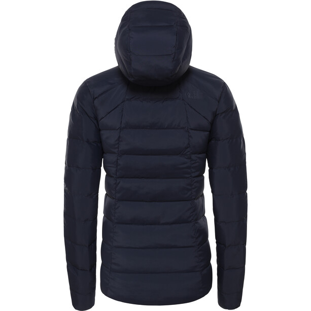 The North Face Stretch Down Hooded Jacket Dam Urban Navy