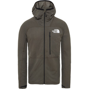 The North Face Summit L2 Power Grid LT Hoodie Jacket Herr New Taupe Green New Taupe Green