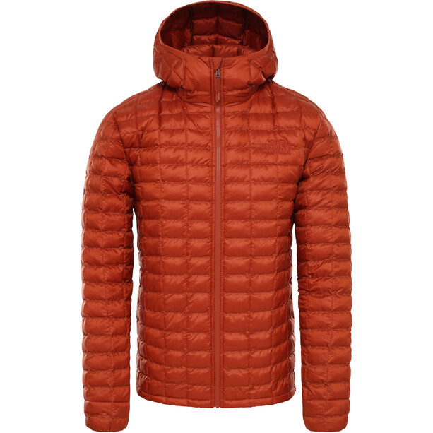The North Face ThermoBall Eco Hoodie Jacket Herr Picante Red Matte