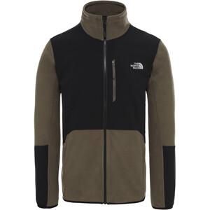The North Face Glacier Pro FZ Jacket Herr new taupe green/tnf black new taupe green/tnf black