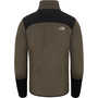 The North Face Glacier Pro FZ Jacket Herr new taupe green/tnf black