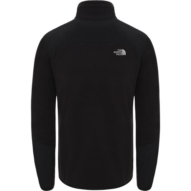 The North Face Glacier Pro FZ Jacket Herr tnf black/tnf black