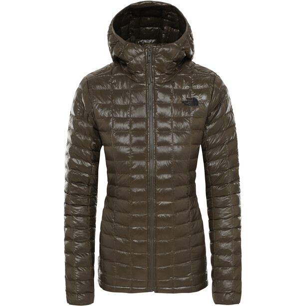 The North Face ThermoBall Eco Hoodie Jacket Dam New Taupe Green