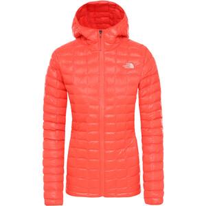 The North Face ThermoBall Plus Hoodie Jacket Dam orange orange