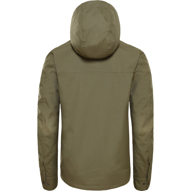The North Face Shellmound Shell Jacket Herr Burnt Olive Green