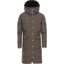 The North Face Down Sierra Long Parka Dam new taupe green