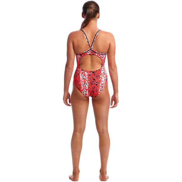 Funkita Diamond Back One Piece Badeanzug Damen sea snake