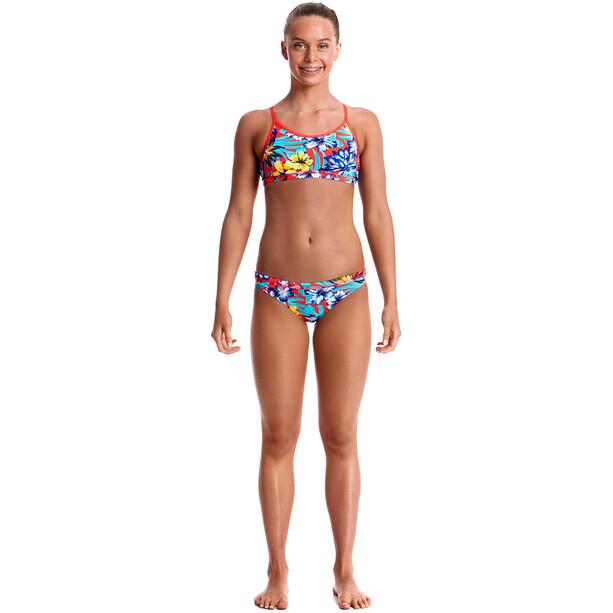 Funkita Racerback Zweiteiliger Bikini Mädchen aloha from hawaii