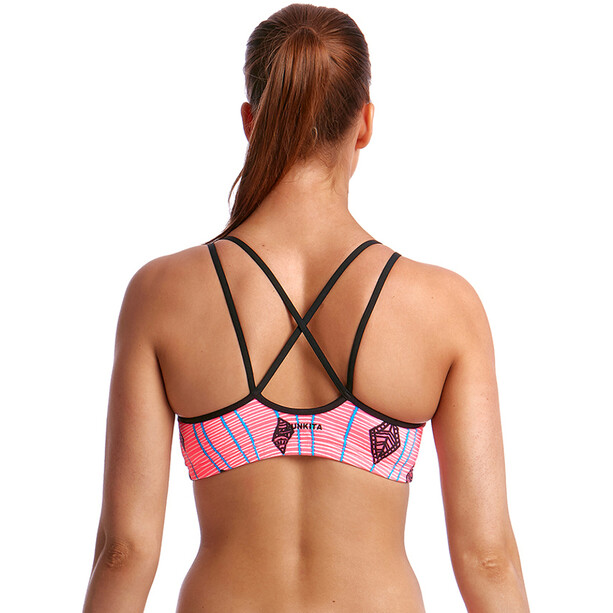 Funkita Criss Cross Top Women flying high