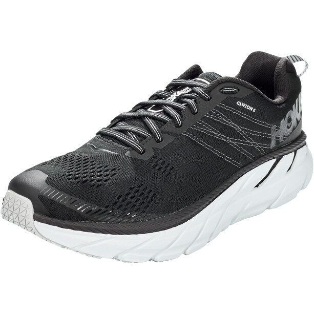 Hoka One One Clifton 6 Laufschuhe Herren black/white