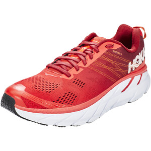 Hoka One One Clifton 6 Laufschuhe Herren poppy red/rio red poppy red/rio red