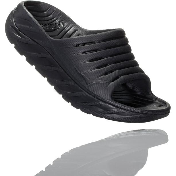 Hoka One One Ora Recovery Slide Sandalen Damen black/black