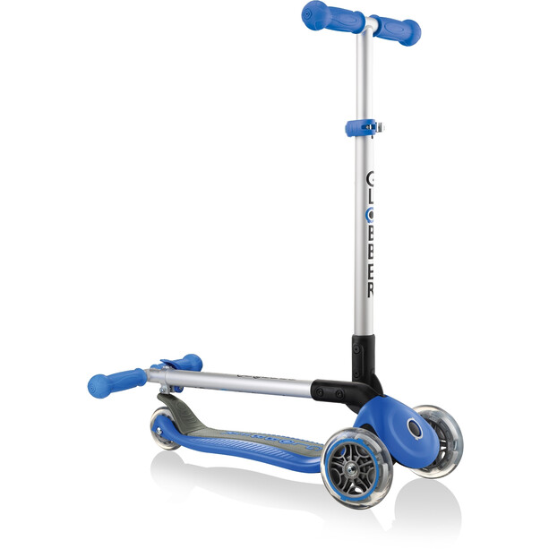 Globber Primo Foldable Scooter Kids navy blue