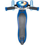 Globber Elite Prime Roller mit Batterielosen LED Blink-Rollen Kinder navy blue