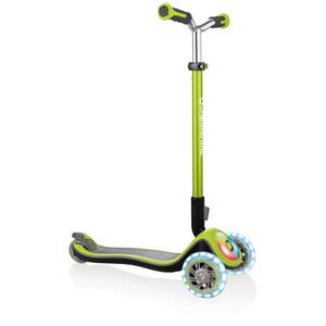 Globber Elite Prime Roller mit Batterielosen LED Blink-Rollen Kinder grün grün